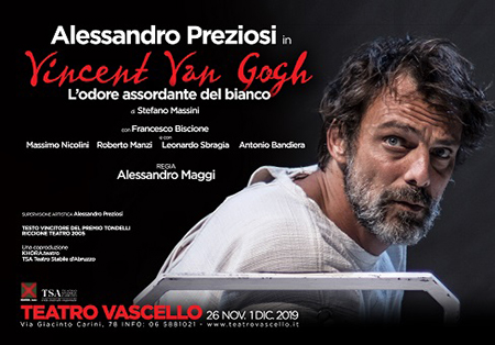 'Vincent Van Gogh - L'odore assordante del bianco'