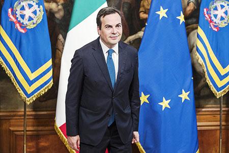 Il Ministro per gli Affari Europei Vincenzo Amendola