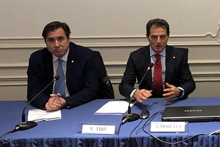 Vincenzo Tiby e Vincenzo Moretta