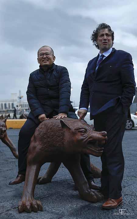 'Wolves Coming' Liu Ruowang e Matteo Lorenzelli ph Michele Stanzione