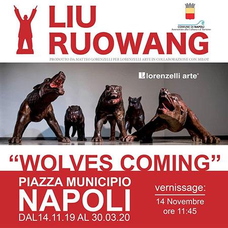 'Wolves Coming' di Liu Ruowang
