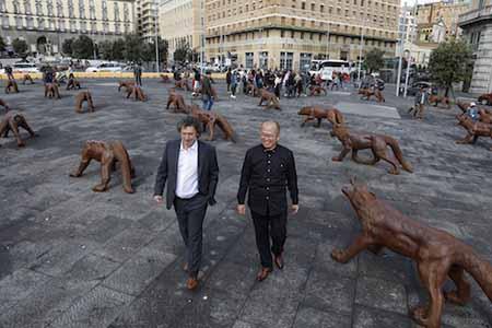 'Wolves Coming' Matteo Lorenzelli e Liu Ruowang ph Michele Stanzione