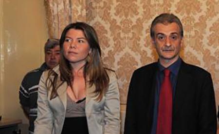 Alessandra Clemente e Carmine Piscopo