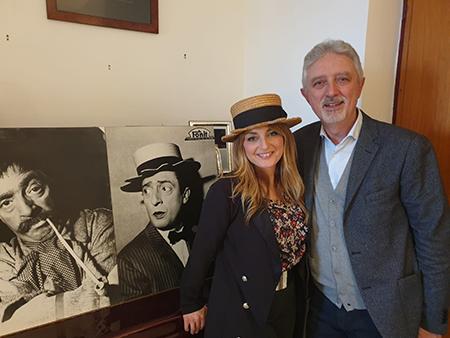 Alessia Moio e Francesco De Blasio