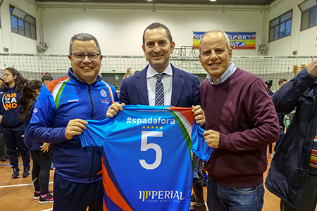 Antonio Piscopo, Vincenzo Spadafora e Raffaele Piscopo