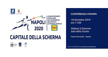 Campionati Italiani Assoluti Olimpici e Paralimpici di Scherma Napoli 2020