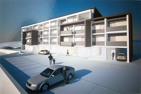 Case popolari a Cori (LT) - Progetto