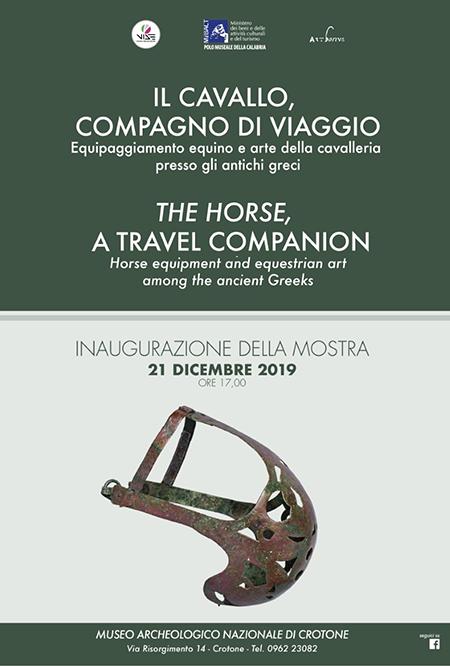 Il cavallo, compagno di viaggio. Equipaggiamento equino e arte della cavalleria presso gli antichi greci'
