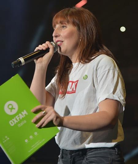 Claudia Maffei, Education Officer di Oxfam Italia