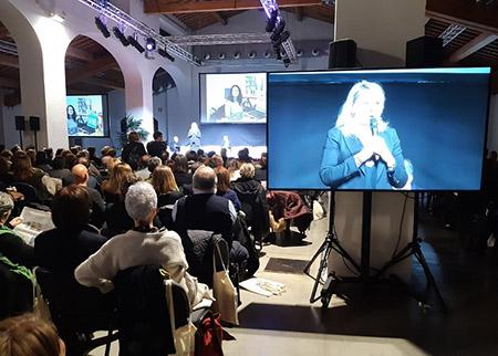 Cristina Grieco alla Fiera del lavoro