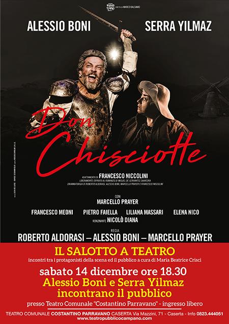 'Don Chisciotte' a 'Il Salotto a Teatro'