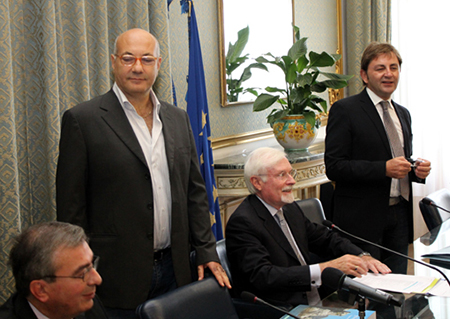 Fabio De Chirico, Michele Faiella, Giuseppe Zampino e Gregorio Angelini