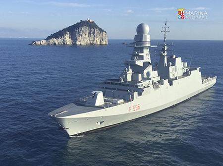 Fregata Federico Martinengo - ph Marina Militare