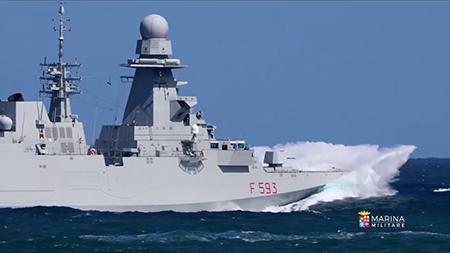Fregata Marceglia - ph Marina Militare