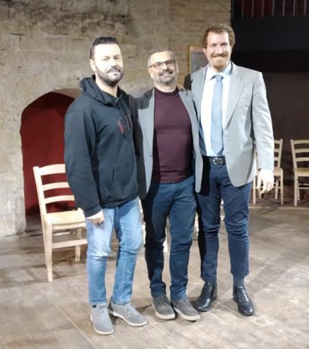 Gianni Sallustro, Antonio Masullo e Marcello Cocchi