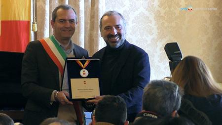 Luigi de Magistris e Stefano Bollani