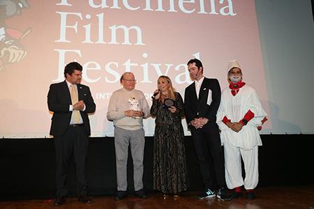 Massimo Boldi al 'Pulcinella Film Festival'