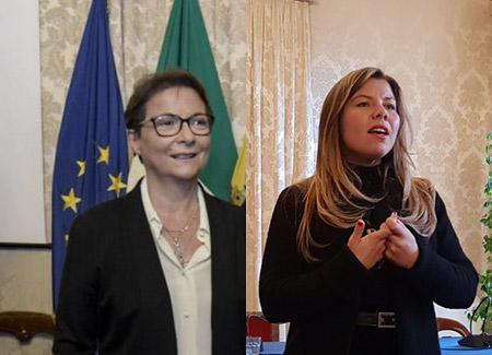 Monica Buonanno e Alessandra Clemente