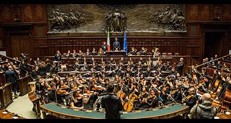 Orchestra Scarlatti Junior alla Camera dei Deputati