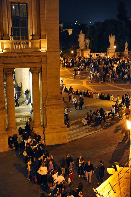 Piazza Campidoglio Musei Capitolini