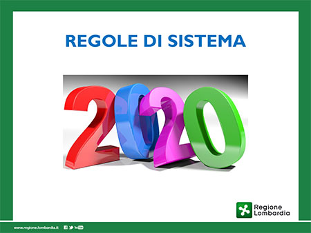 'Regole di Sistema 2020'