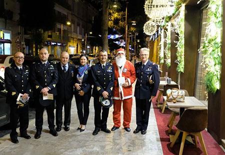 Scuola Specialisti dell'Aeronautica Militare e Babbo Natale
