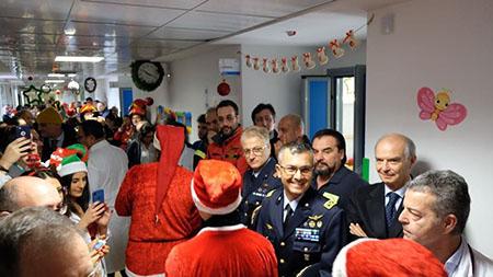Scuola Specialisti dell'Aeronautica Militare all'Ospedale di Caserta