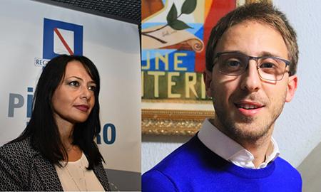 Sonia Palmeri e Orlando Zaccariello