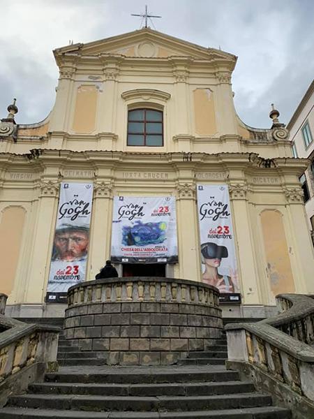 'Van Gogh - La mostra immersiva' a Salerno