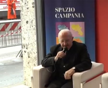 Vincenzo De Luca a Spazio Campania