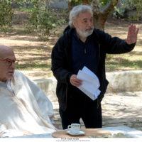 'Hammamet' il regista Gianni Amelio e il protagonista Pierfrancesco Favino fotografati sul set da Claudio Iannone