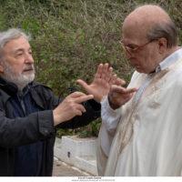 'Hammamet' Amelio e Favino sul set foto di Claudio Iannone