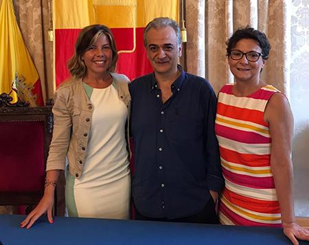 Alessandra Clemente, Carmine Piscopo e Monica Buonanno