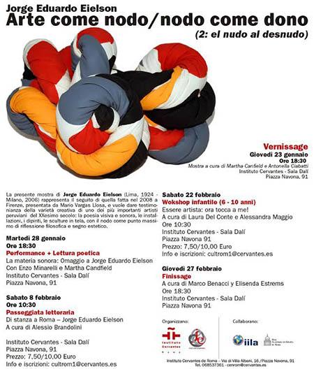 'Arte come nodo / nodo come dono II'
