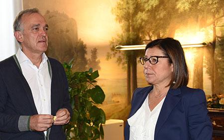 Enrico Rossi e Paola De Micheli