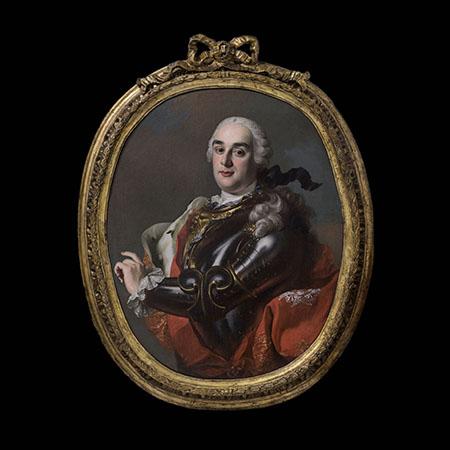 Francesco De Mura - Ritratto di Raimondo di Sangro principe di Sansevero