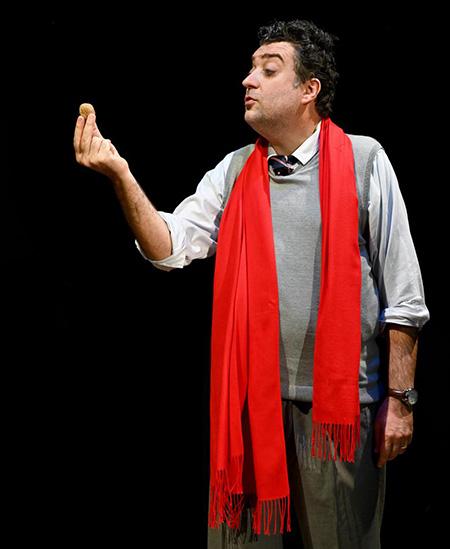 Francesco Sala in Federico Fellini 3 - Foto di Angelo Costanzo