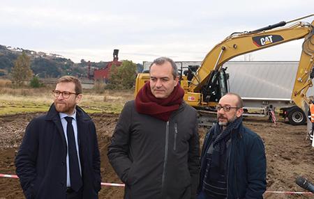 Giuseppe Provenzano, Luigi de Magistris e Diego Civitillo
