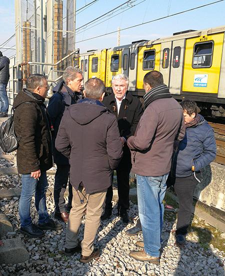 Incidente metropolitana Napoli