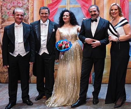 Lucio Lupoli, Luca Lupoli, Olga De Maio, Giuseppe Giorgio e Lorenza Licenziati