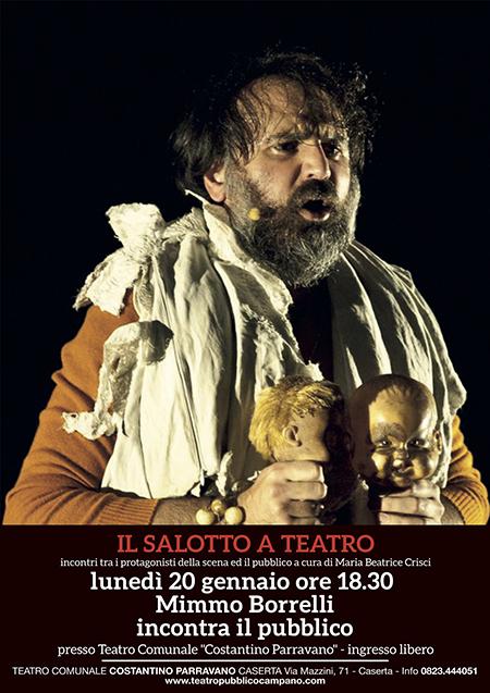 Mimmo Borrelli a 'Il Salotto a Teatro'