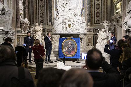 Museo Cappella Sansevero Francesco De Mura - Ritratto di Raimondo di Sangro principe di Sansevero