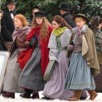 'Piccole donne' le sorelle March a passeggio