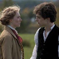 'Piccole donne' Ronan e Chalamet nei panni di Jo e Laurie