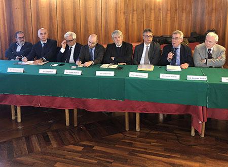 Rossi, Santovito, Rollo, Montibello, Poletti, Santomauro, Schiavone e Scolaro