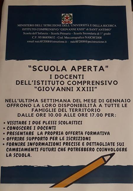 'Scuola aperta' all'IC 'Giovanni XXIII'