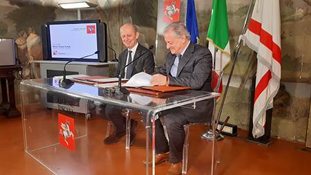 Stefano Ciuoffo e Maurizio Coppi Castell'Azzara (GR)