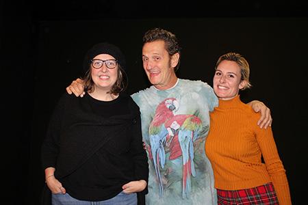 Valentina Paoletti, Enzo Salvi e Carlotta Rondana