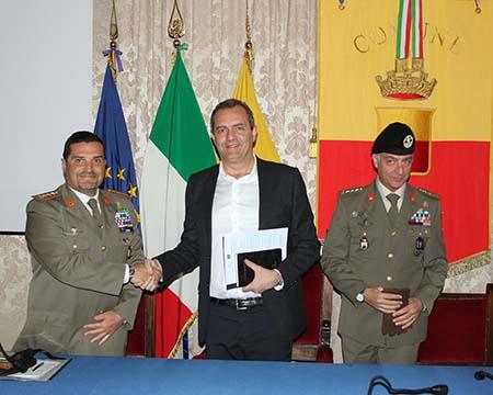 Amedeo Gerardo Cristofaro, Luigi de Magistris e Max André Barbacini