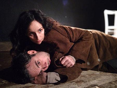 'Amleto e sua moglie Ofelia'